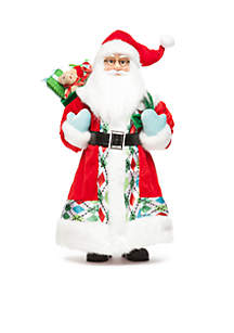 Christmas Past 16-in. Santa with Presents