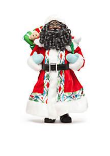 Christmas Past 16-in. African American Santa