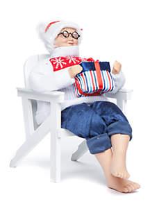 Nauti & Nice Mrs.Claus in Chair