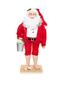 Nauti and Nice Santa In Sand