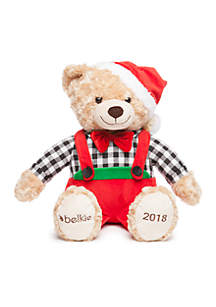 Holiday 2018 Buffalo Check Belkie Bear