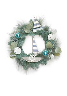 Nauti And Nice Nautical Wreath