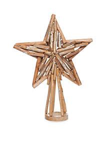 Nauti And Nice Driftwood Star Tree Topper