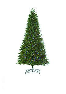 Pre-Lit 8-Way Multi-Function LED Tree