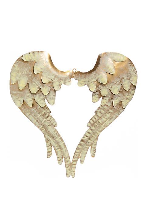 Tidings of Joy Gold Angel Wings