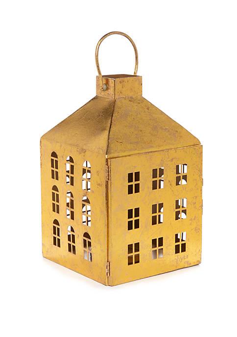 Joyland Tidings of Joy Small House Lantern