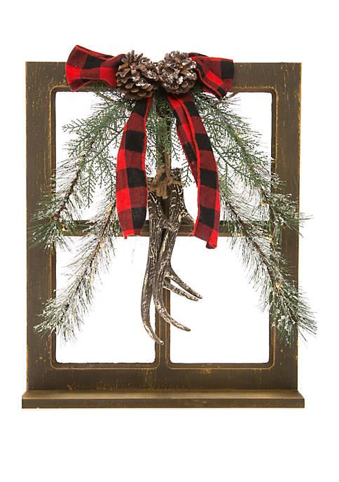 Joyland Woodland Winter Antler Decor