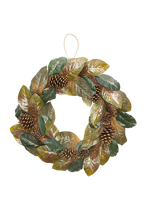 Joyland Woodland Winter Pine Glitter Wreath