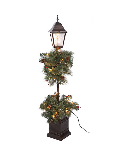 Joyland 4 Foot Porch Tree in Wood Finish