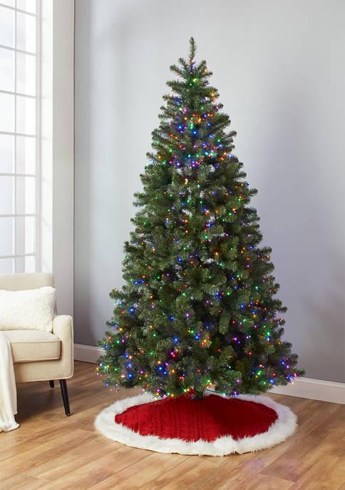 Joyland 7.5 Foot Pre Lit Multi Light Tree