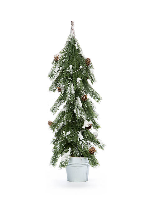 Joyland 22 inch Plastic Tree with LED Lights