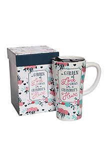 A Garden Of Love Grows In A Grandma's Heart Boxed Latte Mug
