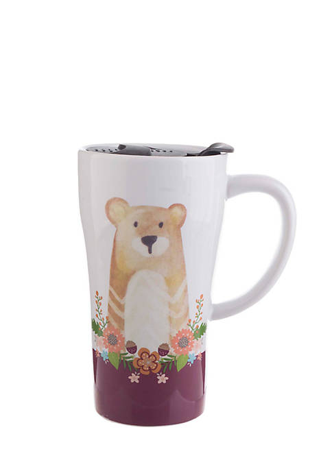 Bear Icon Boxed Latte