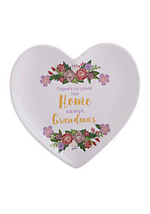 There is No Place Heart-Shaped Tray with Gift Box