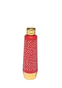 Polka Dot Moda Water Bottle