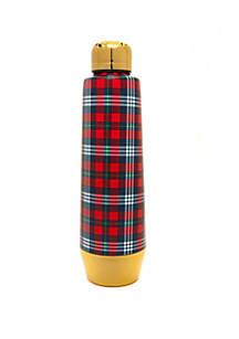 Plaid Moda Water Bottle