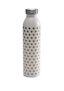 Crown & Ivy™ Gold Dot Retro Bottle