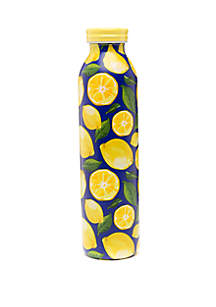 Crown & Ivy™ Navy Lemons Retro Bottle