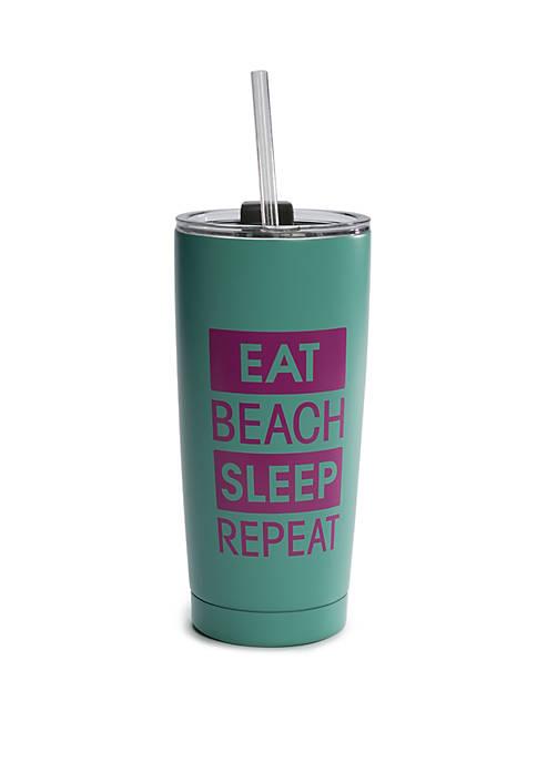 Crown & Ivy™ Eat Beach Sleep Tumbler