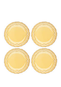 Modern. Southern. Home.™ Capri Buttercup Salad Plate - Set of 4