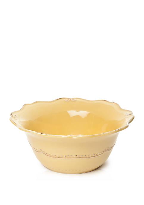 Capri Buttercup Serving Bowl
