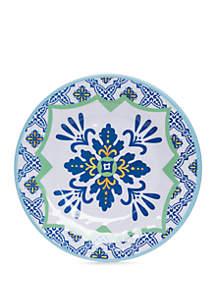 Modern. Southern. Home.™ Spanish Tile Melamine Salad Plate