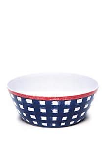 Modern. Southern. Home.™ Americana Gingham Serving Bowl