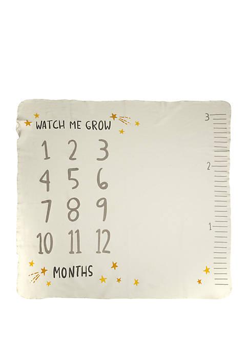 Galazy Milestone Blanket- Watch Me Grow