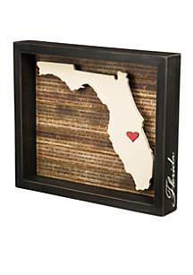 Florida Box Sign