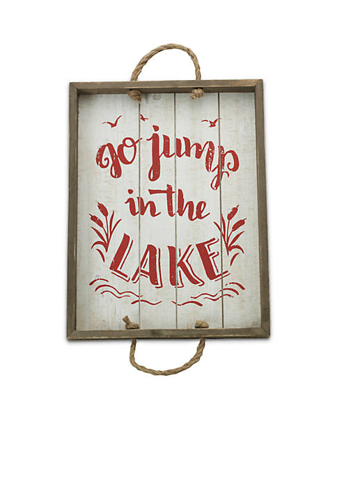 Modern. Southern. Home.™ Go Jump in the Lake