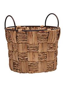 12'' Water Hyacinth Basket