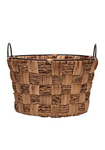 18'' Water Hyacinth Basket