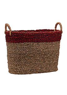 Small Oval Seagrass Basket