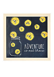 Adventure is Out There, Wall Art Shadowbox