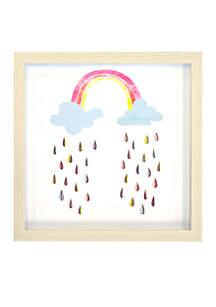 Rainbow Wall Art Shadowbox
