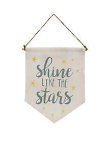 Shine Like The Stars Pennant Flag