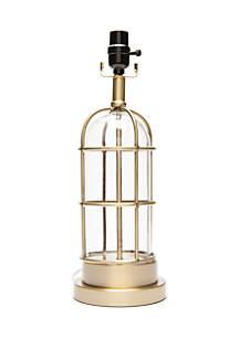 Lightning Bug Gold Lantern Lamp