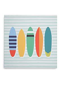 Lightning Bug Surfboard Canvas