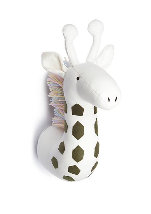 Faux Giraffe Head