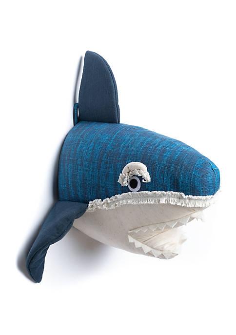 Lightning Bug Shark Faux Wall Head