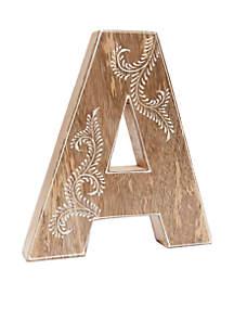 Mango Wood Letters