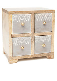 Wooden 4 Drawer