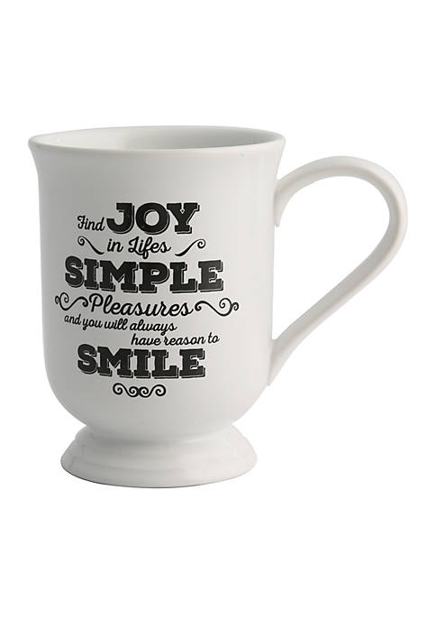 Modern. Southern. Home.™ Joy Footed Beverage Mug