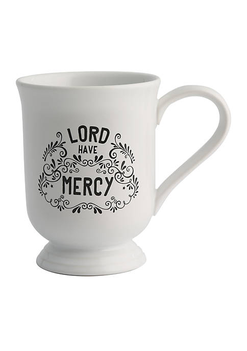 Lord Have Mercy Footed Beverage Mug