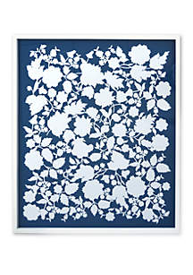 Crown & Ivy™ Floral Cut Out In Frame Artwork
