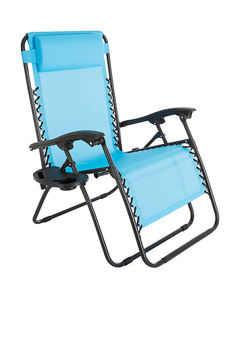Pure Garden Oversized Zero Gravity Chair with Pillow