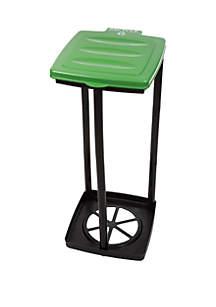 Wakeman Portable Garbage Trash Bag Holder