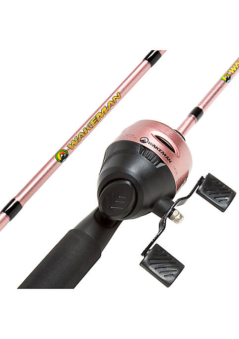 Fishing Rod and Reel Combo, Spincast Fishing Pole, Fishing Gear for Bass and Trout Fishing - Swarm Series