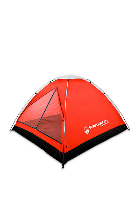 2-Person Water Resistant Dome Tent for Camping With