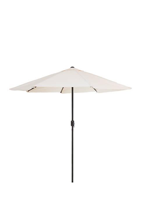 Pure Garden 9 ft Aluminum Patio Umbrella with